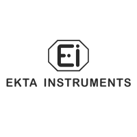 Ekta Instruments' black and white logo for best digital marketing company in India.